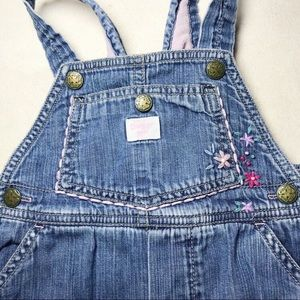 OshKosh Fleece Lined Embroidered Overalls